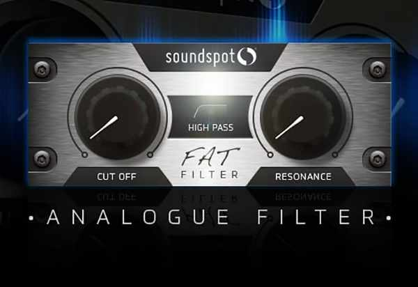 SoundSpot Releases Free Filter Sweeps Plugin FAT Filter