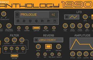 Roland Releases New Virtual Synth, Anthology 1990