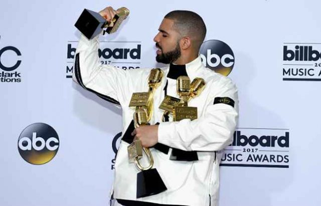 Drake Sets New Record for Most Billboard Music Award Wins