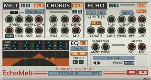 Psychic Modulations Releases EchoMelt Plugin