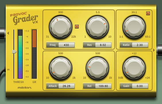 Mildon Studios Releases New Vocal Compressor Plugin