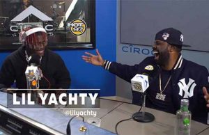 Lil Yachty Funkmaster Flex Freestyle on Hot97