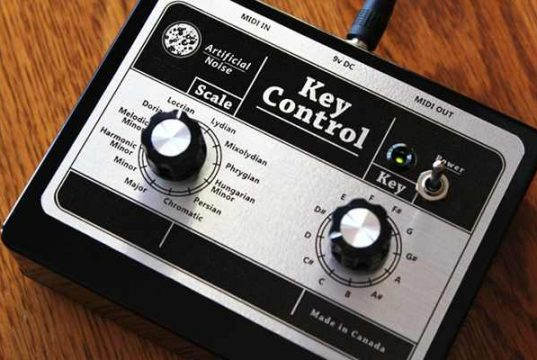 New Key Control Device Easily Maps Chords and Scales to Any synth