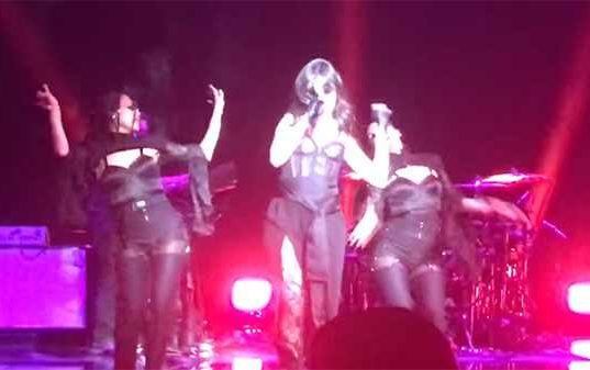 Camila Cabello Performs Unreleased Material