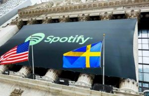 Spotify Closes First Day of Trading on NYSE