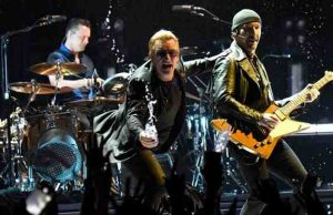 StubHub: U2 is Hottest Selling Summer Show 2017