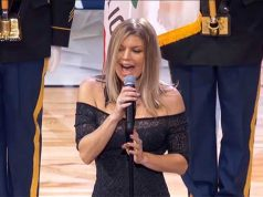 Fergie Gets Dragged After National Anthem