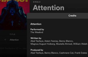Spotify Adds Songwriter and Producer Credits to App