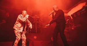 Anderson .Paak and Dr. Dre Performing at O2 Academy Brixton in London