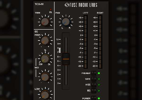 Fuse Audio Labs TCS-68 Plugin