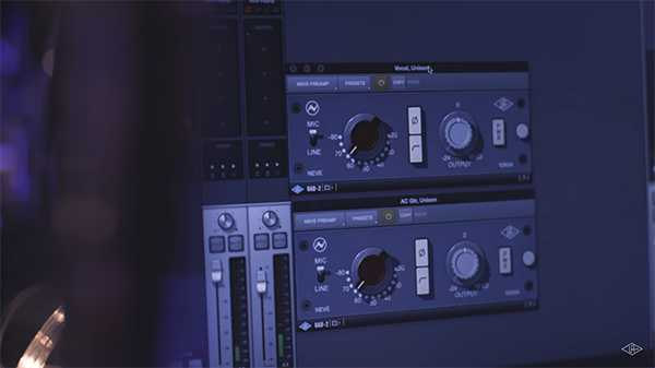 UA Releases New Pre-Amp Plugin from Neve