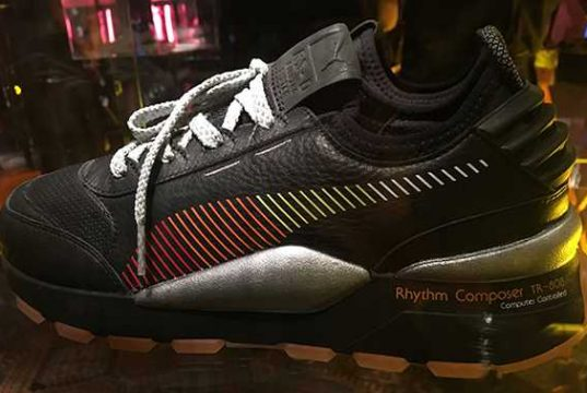 Puma Teams Up With Roland for New TR-808 Sneaker